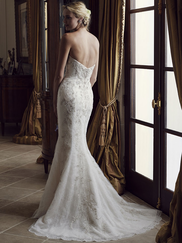 Casablanca 2231 Strapless Sweetheart Wedding Dress