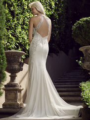 Casablanca 2243 Halter Neckline Wedding Dress