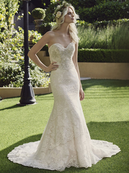 Casablanca 2244 Strapless Sweetheart Wedding Dress