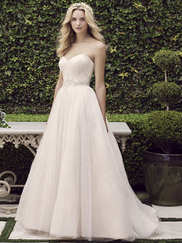 Casablanca 2245 Beaded Bodice Wedding Dress