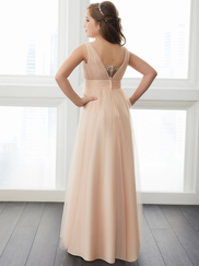 Christina Wu Junior 32728 V-neck Bridesmaid Dress