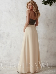 Christina Wu Occasions 22666 Spaghetti Straps Bridesmaid Gown