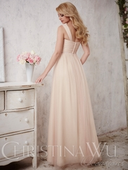 Christina Wu Occasions 22698 A-Line Bridesmaid Gown