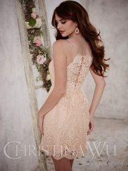 Christina Wu Occasions 22699 Spaghetti Straps Bridesmaid Gown