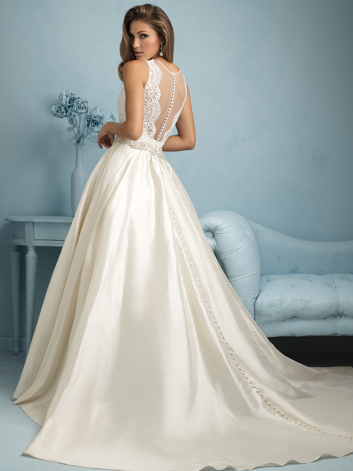 Allure Bridal Dress 9207: DimitraDesigns.com