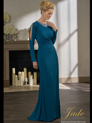 Jade Couture K198001 Jewel Neckline Mother Of The Bride