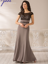 Jade J185008 Short Sleeves Mother Of The Bride Dress