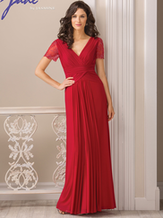 Jade J185012 V-neck Mother Of The Bride Dress