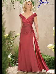 Jade J195003 V-neck Mother Of The Bride