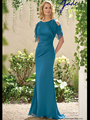Jade J195004 Cap Sleeves Mother Of The Bride