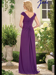 Jade J195005 V-neck Mother Of The Bride