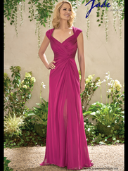 Jade J195006 Queen Anne Neckline Mother Of The Bride