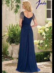 Jade J195007 Cap Sleeves Mother Of The Bride
