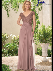 Jade J195008 V-neck Mother Of The Bride