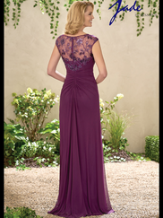 Jade J195010 Boat Neckline Mother Of The Bride