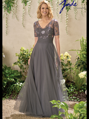 Jade J195012 V-neck Mother Of The Bride