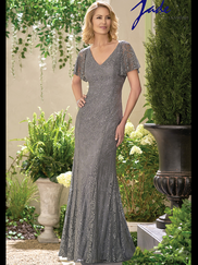 Jade J195021 V-neck Mother Of The Bride