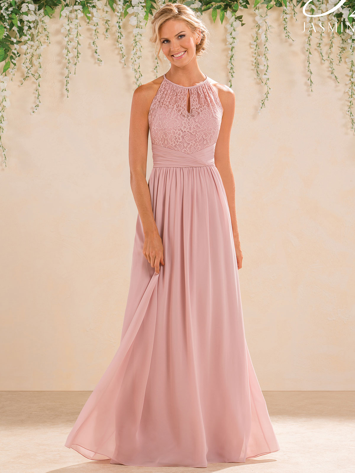 High Neckline Bridesmaid Dresses