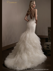 Jasmine T192015 V-neckline Wedding Dress