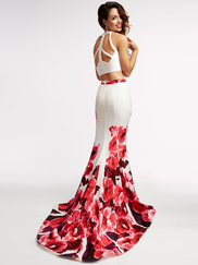 Jasz Couture 5949 High Neck Prom Gown