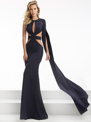 Jasz Couture 5951 High Neck Prom Gown