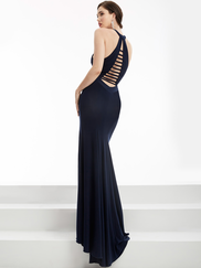 Jasz Couture 5952 Halter Prom Gown