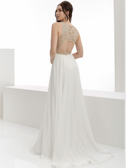 Jasz Couture 5957 High Neck Prom Gown