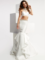 Jasz Couture 6007 Halter Prom Gown