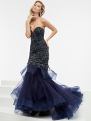 Jasz Couture 6011 Sweetheart Beaded Prom Gown
