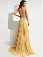 Jasz Couture 6019 Sweetheart Prom Gown