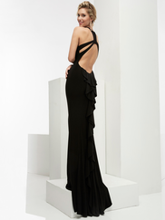 Jasz Couture 6036 Open Back Prom Gown