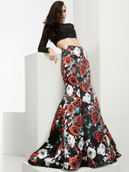 Jasz Couture 6060 Two Piece Prom Gown