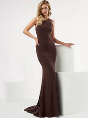 Jasz Couture 6097 High Neck Prom Gown