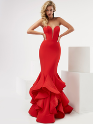 Jasz Couture 6115 Sweetheart Prom Gown