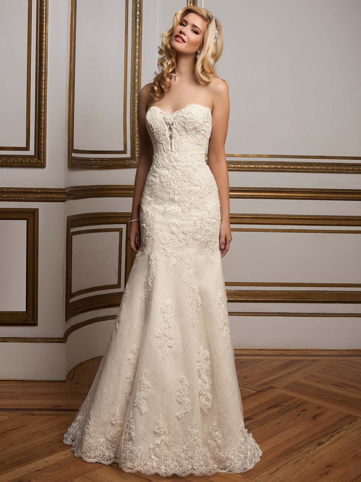 Justin Alexander 8811 Sweetheart Beaded Wedding Dress