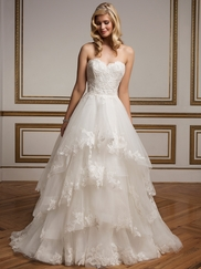 Justin Alexander 8823 Sweetheart Lace Wedding Dress