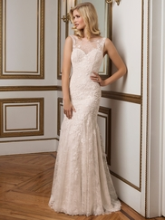Justin Alexander 8828 Sabrina Neckline Wedding Dress