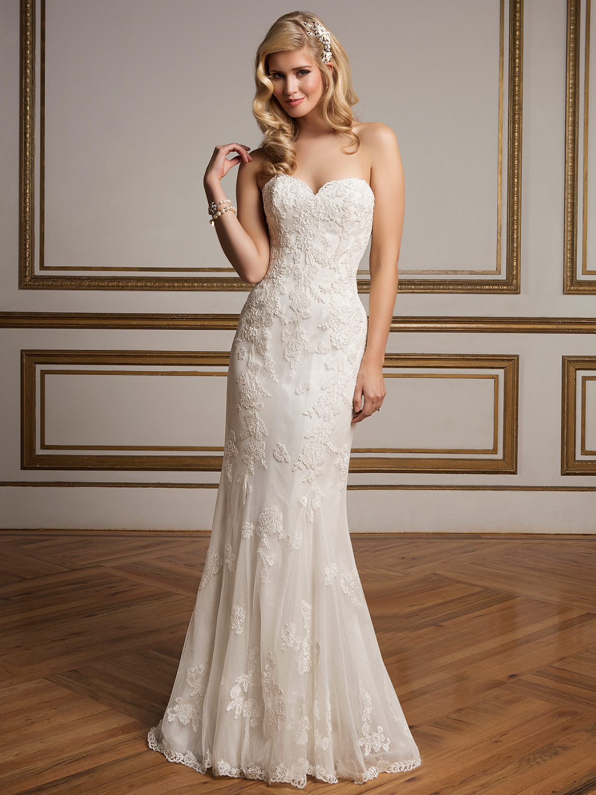 Justin Alexander 8830 Sweetheart Beaded Wedding Dress