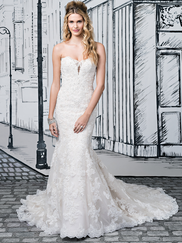 Justin Alexander 8884 Sweetheart Wedding Dress