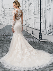 Justin Alexander 8905 Sabrina Neckline Wedding Dress