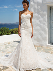 Justin Alexander 8967 Sweetheart Wedding Dress