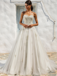 Justin Alexander 8969 Sweetheart Wedding Dress