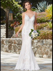 Kitty Chen Boat Neckline Bridal Gown Ivana