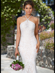Kitty Chen Halter Bridal Gown Danielle