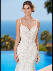 Kitty Chen Sweetheart Beaded Bridal Gown Pauletta