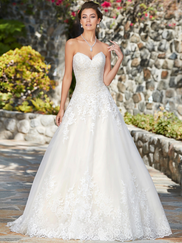 Kitty Chen Sweetheart Bridal Gown Eliza