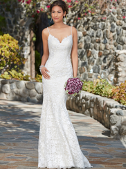 Kitty Chen V-neck Bridal Gown Clarissa