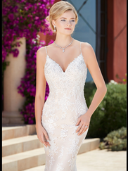 Kitty Chen V-neck Bridal Gown Danica