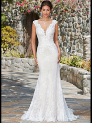 Kitty Chen V-neck Bridal Gown Kali