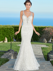 Kitty Chen V-neck Bridal Gown Riley